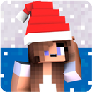 Christmas Girl Skin for MCPE APK