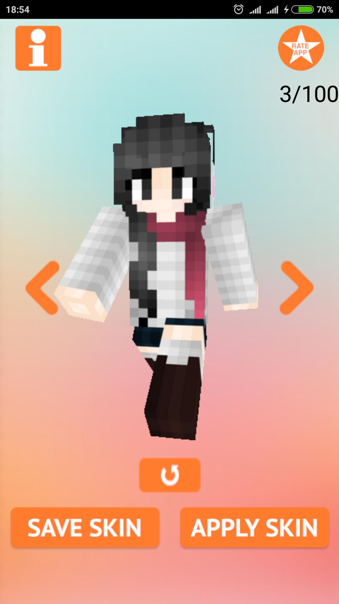 Anime Girl Skins for Minecraft for Android - APK Download
