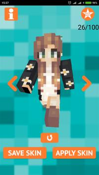 Kawaii Skins for Minecraft poster