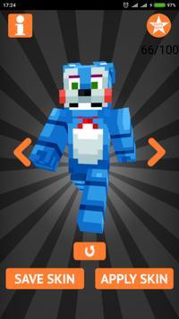 Skins FNAF for Minecraft PE imagem de tela 13