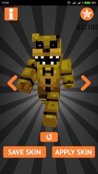 Skins FNAF for Minecraft PE imagem de tela 14