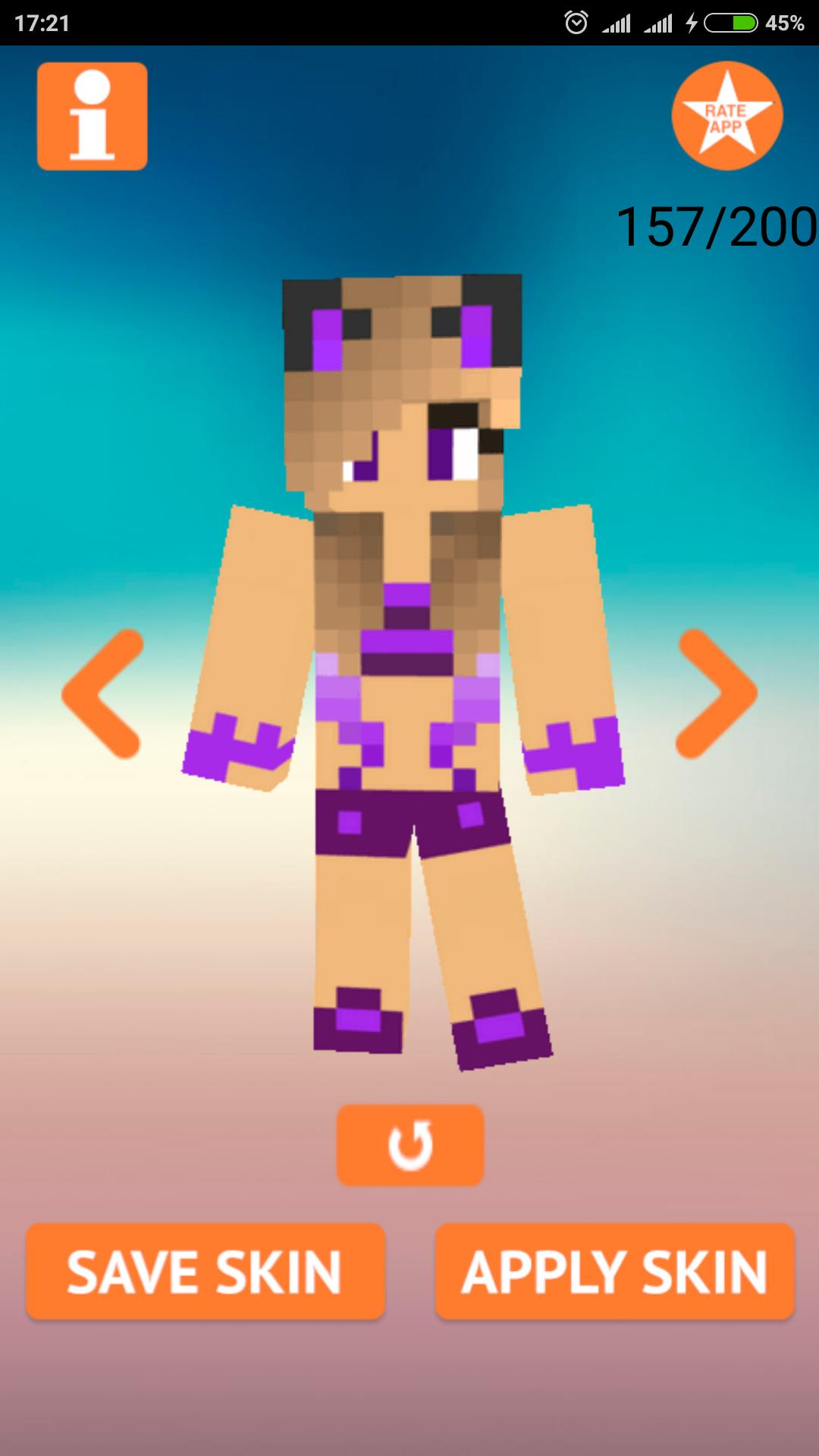 7ac604c032 Skins Girl in Swimsuit for Minecraft for Android - APK Download