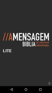 Biblia A Mensagem Cartaz