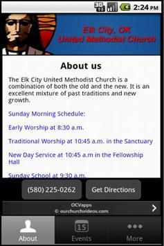 Elk City UMC poster