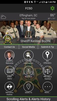 Florence County Sheriff SC poster