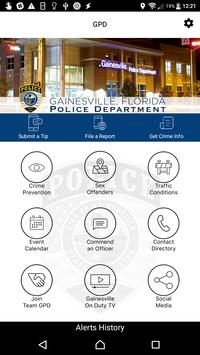 Gainesville Florida Police Department poster