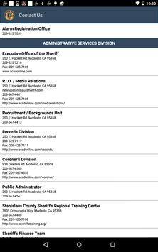 Stanislaus County Sheriff apk screenshot