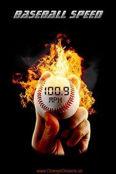 Baseball Speed poster
