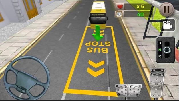City Bus Parking apk screenshot