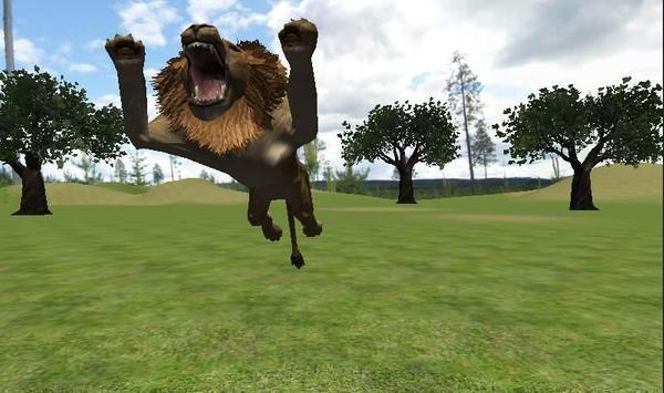 Real Lion Simulator 3D poster