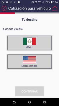 Seguros sin fronteras apk screenshot