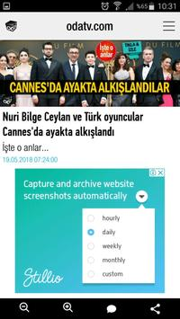 Odatv Mobil apk screenshot
