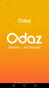 Odaz Food Delivery poster