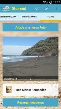 Shorcial (Información Playas) screenshot 5