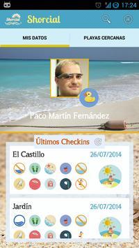 Shorcial (Información Playas) screenshot 1