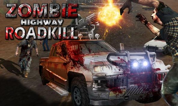 Zombie Highway Roadkill poster