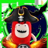 Oddbods adventure games : kids icon