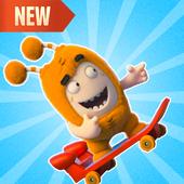 Skater Oddbods go free game icon