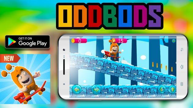 Skater Oddbods go free game screenshot 1