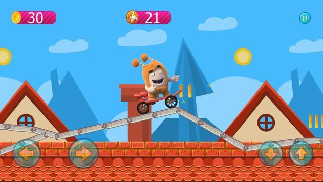 Skater Oddbods go free game screenshot 2