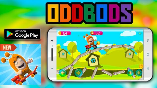 Skater Oddbods go free game screenshot 4