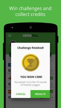 Oddspal - Bet your friends apk screenshot