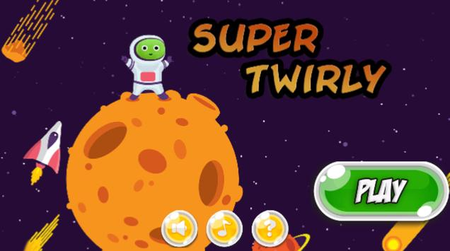 Twirly Super Adventures poster