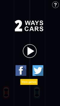 2 ways 2 cars poster