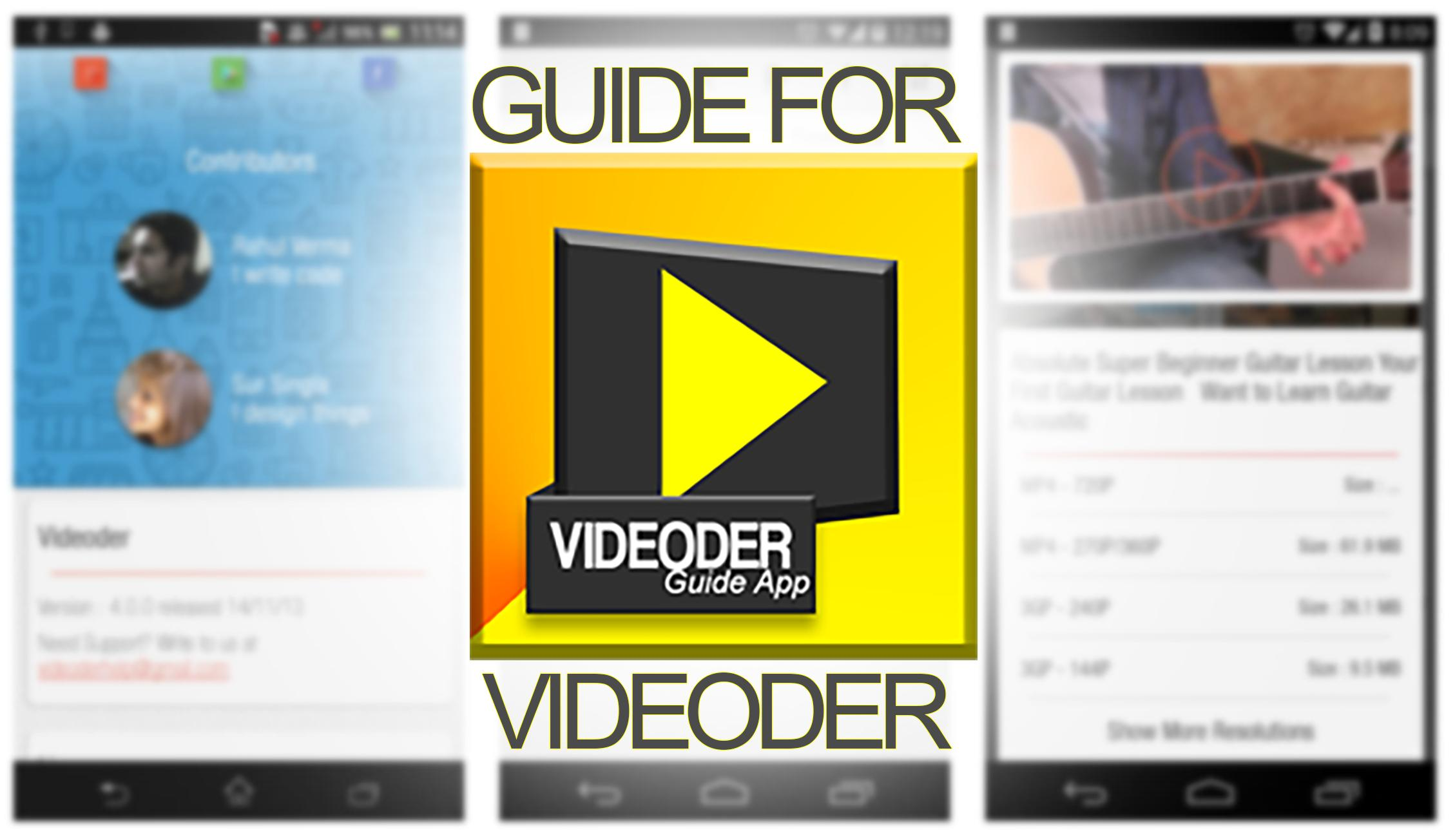 Guide for Videoder for Android - APK Download