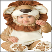 Tile Puzzle Cute Baby Costumes icon