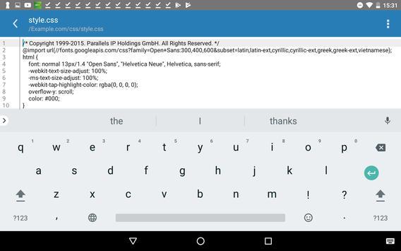 Plesk Mobile تصوير الشاشة 9