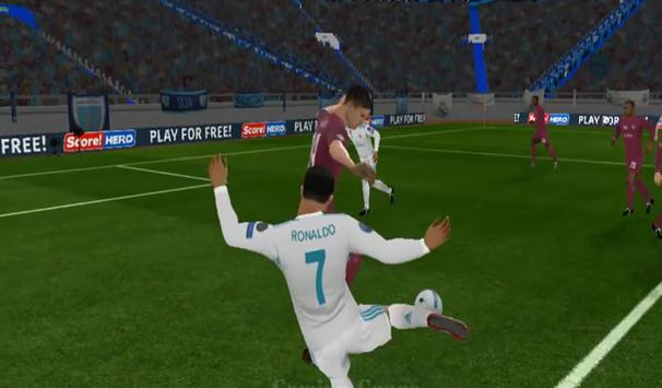 Tricks Dream of League Soccer 18 Unlimited apk screenshot