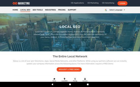 OD Marketing: Local SEO & Social Media Management screenshot 11