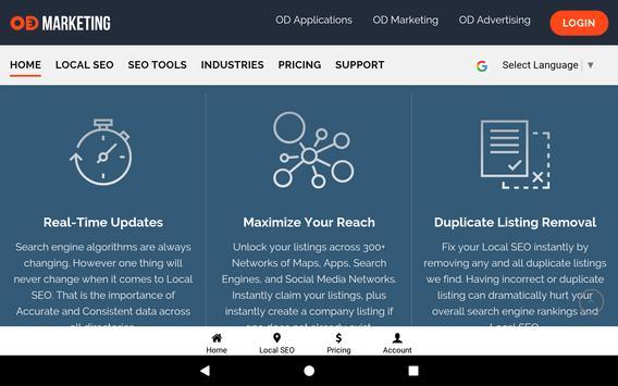 OD Marketing: Local SEO & Social Media Management screenshot 17