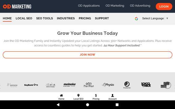 OD Marketing: Local SEO & Social Media Management screenshot 18