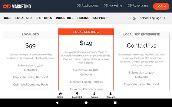 OD Marketing: Local SEO & Social Media Management screenshot 21