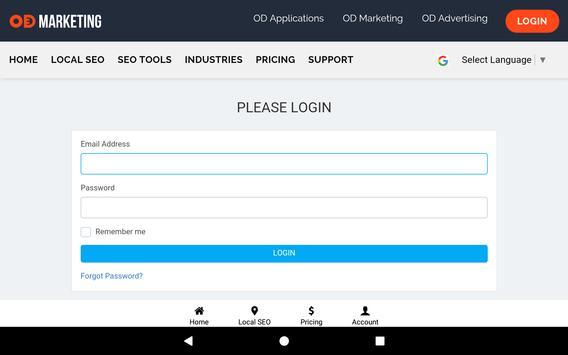 OD Marketing: Local SEO & Social Media Management screenshot 23