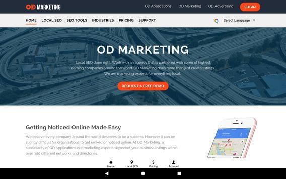 OD Marketing: Local SEO & Social Media Management screenshot 8