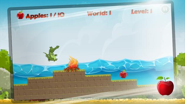 Super Crocodile Run apk screenshot