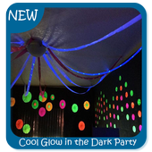 Cool Glow in the Dark Party Ideas icon