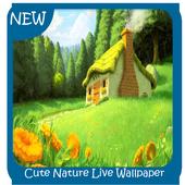 Cute Nature Live Wallpaper icon