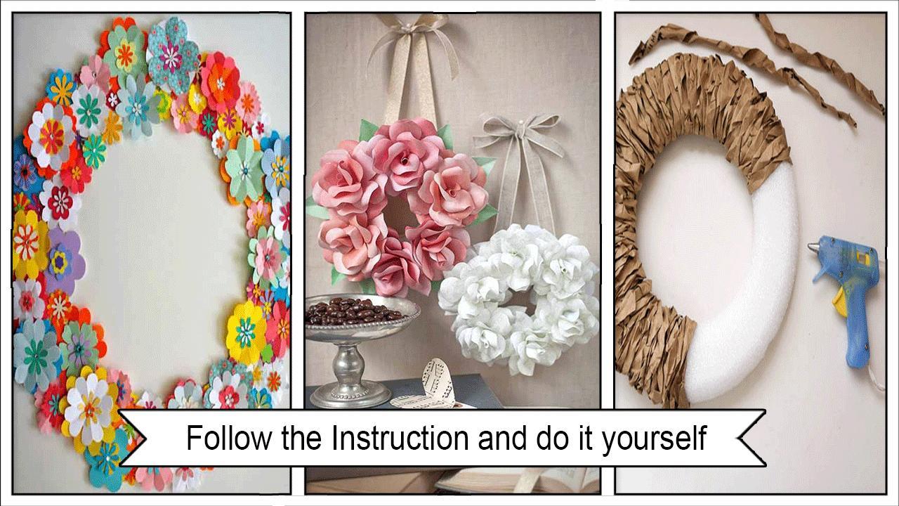 Sweet DIY Paper Wreath Ideas poster