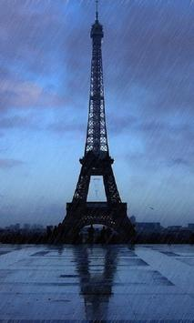 Rainy Paris Live Wallpaper screenshot 4