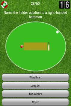 Champion Cricket Quiz apk screenshot