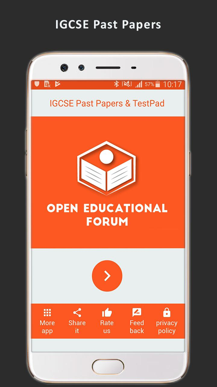 IGCSE Past Papers & TestPad for Android - APK Download