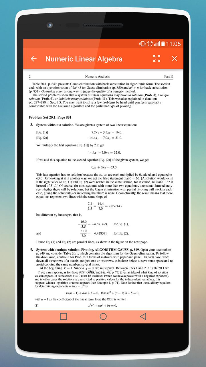 Sol:Engineering Maths Kreyszig for Android - APK Download on