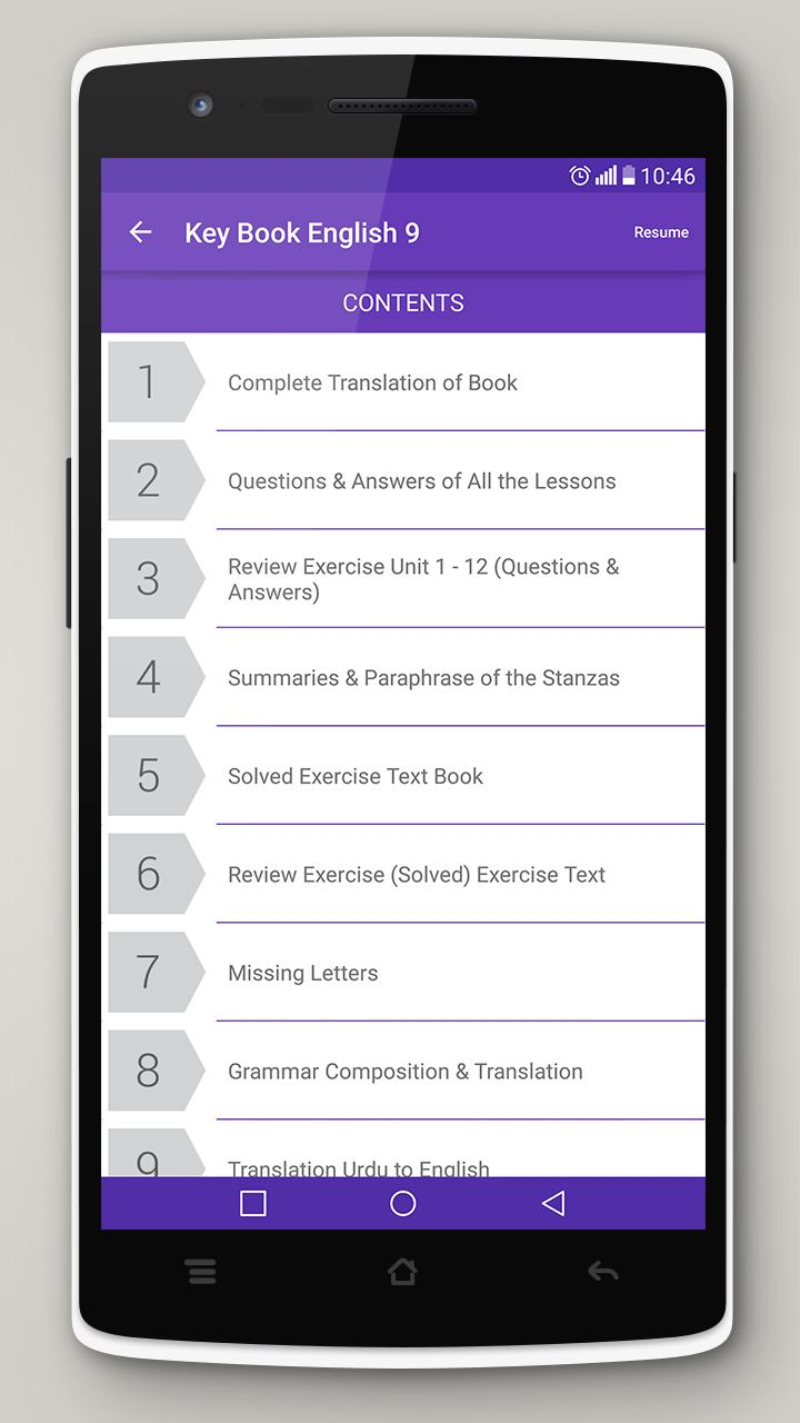Key Book English Class 9 (PTB) for Android - APK Download