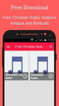 Free Christian Radio Stations Antigua and Barbuda poster