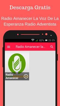 Radio Amanecer La Voz De La Esperanza Adventista Poster