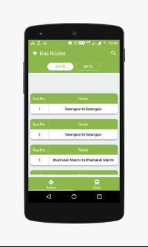 Our Transit - AMTS/BRTS screenshot 1